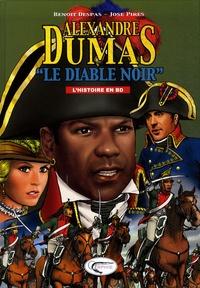 """Benoît Despas et José Pirès - """"Le Diable Noir"""", d'Alexandre Dumas."""