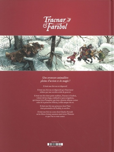 Vagabondage en contrées légendaires Tome 1 Tracnar & Faribol