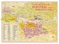 Benoit France - Carte des vins de Bergerac et du Bergeracois.