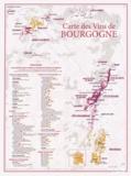 Benoit France - Carte des vins de Bourgogne.