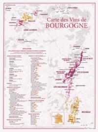 Carte des vins de Bourgogne -  Benoit France |