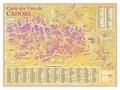 Benoit France - Carte des vins de Cahors.