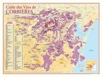 Benoit France - Carte des vins de Corbières.