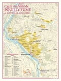Benoit France - Carte des vins de Pouilly fumé et Pouilly / Loire.