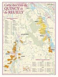 Benoit France - Carte des vins de Quincy et de Reuilly.