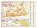 Benoit France - Carte des vins de Vouvray et de Montlouis.