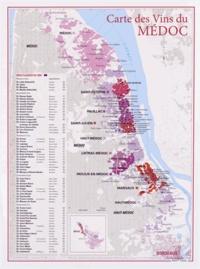 Benoit France - Carte des vins du Médoc.