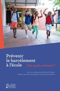 Prévenir le harcèlement à l'école- Oui, mais comment ? - Benoît Galand | Showmesound.org