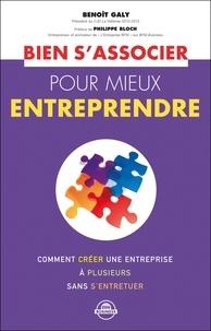 Benoît Galy - Bien s'associer pour mieux entreprendre.