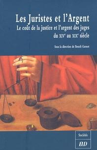 Les Juristes et lArgent - Le coût de la justice et largent des juges du XIVe au XIXe siècle.pdf