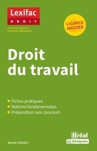 Benoît Geniaut - Droit du travail.