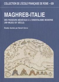 Accentsonline.fr Maghreb-Italie - Des passeurs médiévaux à l'orientalisme moderne (XIIIe-milieu XXe siècle) Image