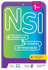 Benoit Groz et Emmanuel Waller - Numérique et Sciences Informatiques 1re Spécialité - Livre de l'élève.