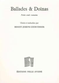 Benoît-Joseph Courvoisier - Ballades et Doïnas - Poésie orale roumaine.