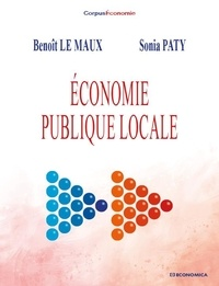 Benoît Le Maux et Sonia Paty - Economie publique locale.