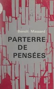 Benoît Massard et Frédéric Amiel - Parterre de pensées.