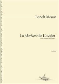 Benoît Menut - La Marianne de Kovider - Étude-Statue nº 2 pour piano.