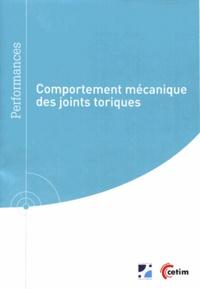 Comportement mécanique des joints toriques - Benoît Omnès pdf epub
