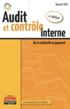 Benoît Pigé - Audit et contrôle interne - De la conformité au jugement.