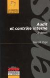 Benoît Pigé - Audit et contrôle interne. - 2ème édition.