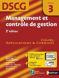 Management et contrôle de gestion, épreuve 3 DSCG - Manuel applications et corrigés.pdf