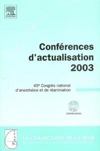 Benoît Plaud - Conférences d'actualisation 2003 - 45e Congrès national d'anesthésie et de réanimation. 1 Cédérom