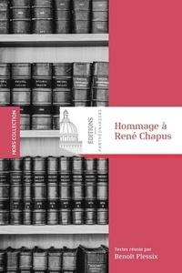 Benoît Plessix - Hommage à René Chapus (1924-2017).