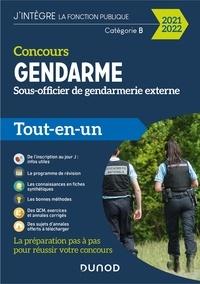 Benoît Priet et Corinne Pelletier - Concours Gendarme - Sous-officier de gendarmerie externe - 2021/2022 - Tout-en-un.