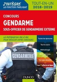 Concours Gendarme sous-officier de gendarmerie externe - Benoît Priet, Catherine Baldit-Dufays, Marie-Annik Durand, Corinne Pelletier, Rénald Boismoreau, Thibault Couarc'h - Format PDF - 9782100784073 - 14,99 €
