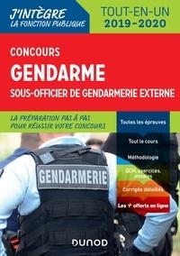 Benoît Priet et Catherine Baldit-Dufays - Concours gendarme sous officier de gendarmerie externe - Tout-en-un.