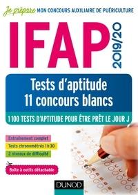Benoît Priet et Bernard Myers - IFAP 2019/20 Tests d'aptitude - 11 concours blancs.