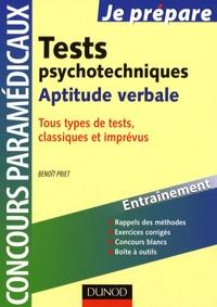 Deedr.fr Tests psychotechniques - Aptitude verbale Image