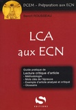 Benoît Rousseau - Lecture critique d'article aux ECN - Cours - Réussir le résumé - Réussir l'analyse d'article.