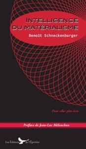 Benoît Schneckenburger - Intelligence du matérialisme.