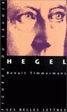 Benoît Timmermans - Hegel.