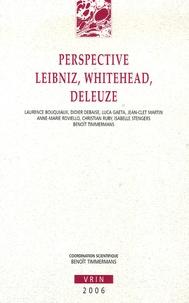 Benoît Timmermans - Perspective Leibniz, Whitehead, Deleuze.