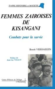 Benoît Verhaegen - Femmes zairoises de Kisangani - Combats pour la survie.