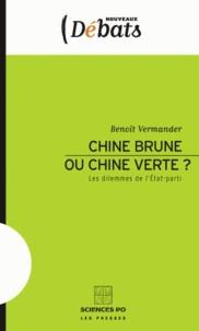 Benoît Vermander - Chine brune ou Chine verte ? - Les dilemmes de l'Etat-parti.