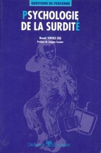 Benoît Virole - Psychologie de la surdité.