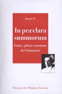 In praeclara summorum- Dante, gloire commune de l'humanité -  Benoît XV |
