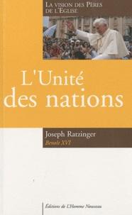 Deedr.fr L'unité des nations - La vision des Pères de l'Eglise Image