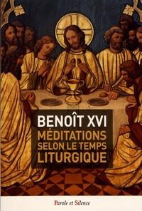 Méditations selon le temps liturgique- Angelus -  Benoît XVI pdf epub