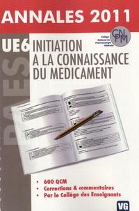 Beny Charbit et Mathieu Molimard - Initiation à la connaissance du médicament - Annales 2011.