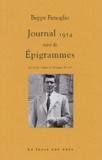 Beppe Fenoglio - Journal 1954 suivi de Epigrammes.