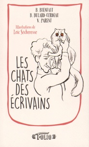 Bérangère Bienfait - Les chats des écrivains.