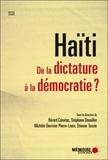 Bérard Cénatus et Stéphane Douailler - Haïti - De la dictature à la démocratie ?.