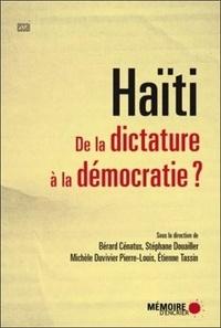 Accentsonline.fr Haïti - De la dictature à la démocratie ? Image
