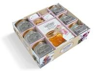 Bérengère Abraham - Coffret Gourmandises maison - Confitures, biscuits & autres douceurs à savourer. Contient : 6 bocaux en verre, de la ficelle, 18 étiquettes, 18 stickers, 1 livre.