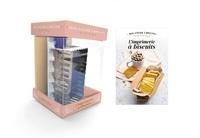 Bérengère Abraham et Séverine Augé - L'imprimerie à biscuits - Le livre avec 1 alphabet + 1 emporte-pièce.