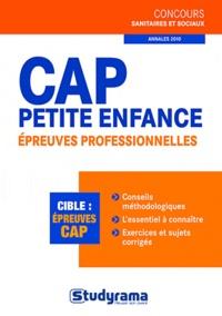 Berengère Masson et Laurence Brunel - Cap petite enfance - Epreuves professionnelles.